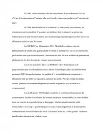 dissertation le surendettement des cautions