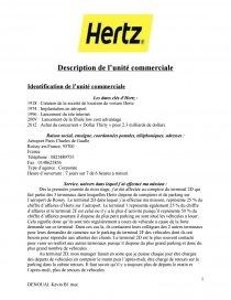 Creation De La Societe De Location De Voiture Hertz Dissertation Neliia