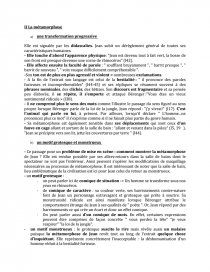La Transformation De Jean Acte Ii Tableau 2 Chronologie Younes93