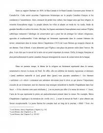 dissertation maria chapdelaine