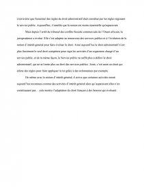 dissertation le service public est la pierre angulaire du droit administratif