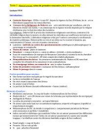 La Rencontre De Pacy Lecture Analytique Manon Lescaut dissertations et fiches de lecture