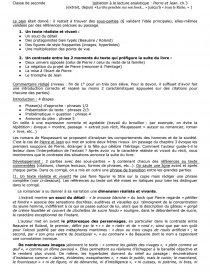 Preface Pierre Et Jean Ca Commentaire De Texte Clos Dissertation