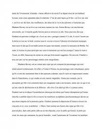 dissertation sur le réalisme dans madame bovary