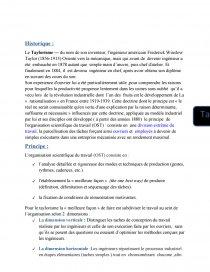 dissertation sur le taylorisme et le fordisme