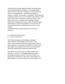 39921bf2e7c7 Victor HUGO - Les Contemplations. Introduction et plan ...