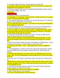 Proces Dialogue En Anglais Fiche Cloclo Doudou