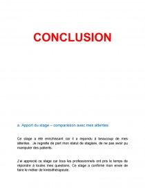 Rapport De Stage 3ème Cabinet De Kinésithérapeute