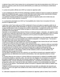 dissertation le rapporteur public et le procès équitable