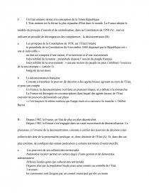 dissertation etat unitaire déconcentré