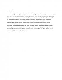 Exemple Rapport De Stage Observation Infirmier Rapport De