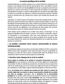 dissertation affectio societatis