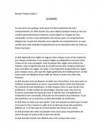 Lettre Dexcuse Pour Un Prof Pour Mauvais Comportement Pdf