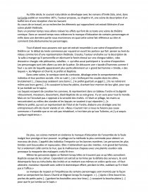 dissertation sur la curée de zola