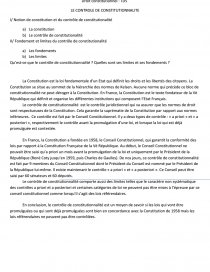 dissertation droit constitutionnel contrôle de constitutionnalité