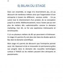 Rapport De Stage à Thales Electron Devices Rapport De