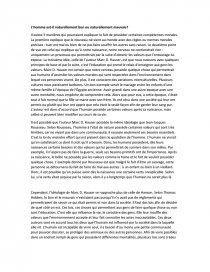 L Homme Est Il Naturellement Bon Ou Mauvai Dissertation Alina Musteata