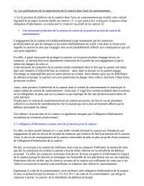 dissertation le surendettement des cautions