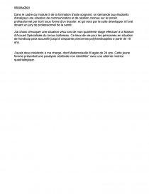 Exemple Oral Module 5 Aide Soignante - Le Meilleur Exemple