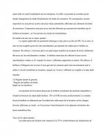 dissertation sur la location gerance