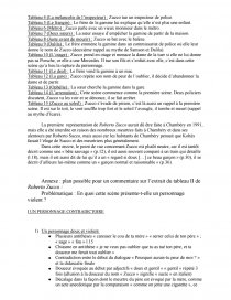 Lecture Analytique Roberto Zucco Bernard Marie Koltes Tableau Ii Fiche De Lecture Mega Watt