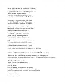 dissertation paul eluard la dame de carreau