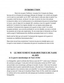 dissertation sur le djolof