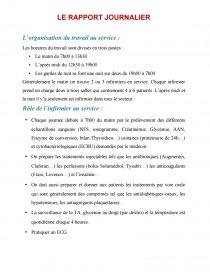 Rapport De Stage En Service De Neurologie Rapport De Stage