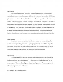 dissertation gaspillage alimentaire