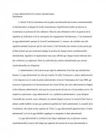dissertation le juge administratif et les normes constitutionnelles