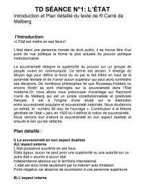 dissertation constitutionnalisme et etat de droit