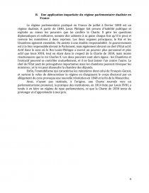 dissertation charte 1814 et 1830