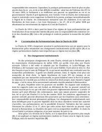 dissertation charte de 1814 et 1830