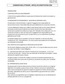 article 49 alinéa 3 de la constitution dissertation