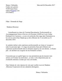 Exemple Lettre De Motivation Bac Pro Assp Lettre Type