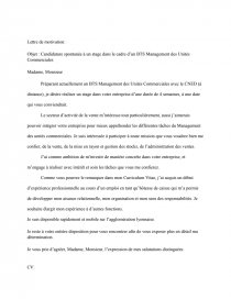 Lettre De Motivation Stage Bts Muc Et Cv Dissertation Md69