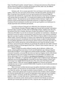 dissertation paul eluard aimant lamour