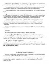 sujet de dissertation sur la bipolarisation du monde