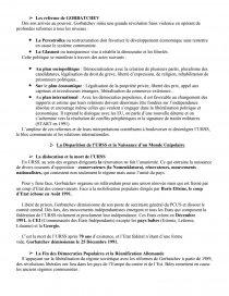 dissertation le plan marshall et la bipolarisation du monde