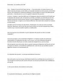 Dissertation De Droit Constitutionnel Le Mutation La Separation Pouvoir Hugo Soulier