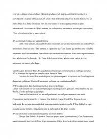 dissertation juridique sur letat unitaire et letat federal