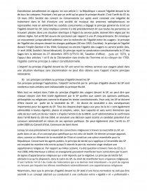 légalité des usagers du service public dissertation