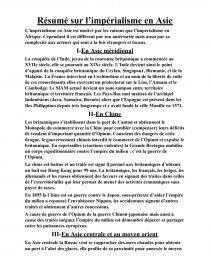 dissertation limpérialisme afrique