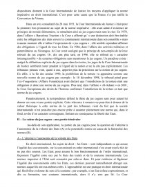 dissertation le jus cogens en droit international