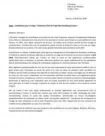 Lettre De Motivation Occitane Lettre Type Aude4554