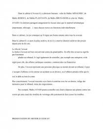 Rapport De Stage En Cabinet D Avocats Rapport De Stage Omaymalmz