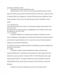 efficacité de la promesse unilatérale de vente dissertation