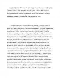 dissertation fable badinerie