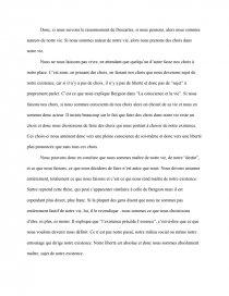 Dissertation Sui Je Le Sujet De Mon Existence Elo Ise Pense Donc Pdf