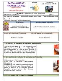 Fiche E22 Rapport De Stage Samuel Richonnier